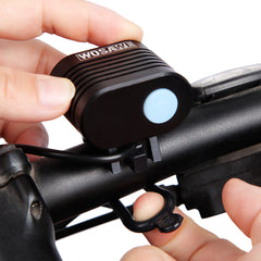 WOSAWE XML T6 Bike Light with USB Cable Waterproof Front Bicycle Lights 3.0-5.0V Power