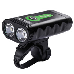 WOSAWE USB Rechargeable 5 modes Bicycle Flashlight 600 Lumens with Built-in Li Batteries Bike Front Light