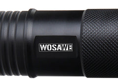 WOSAWE Front Bicycle Light 600 Lumens 5 Mode T6 LED Bike Light Torch Waterproof + Torch Holder Support