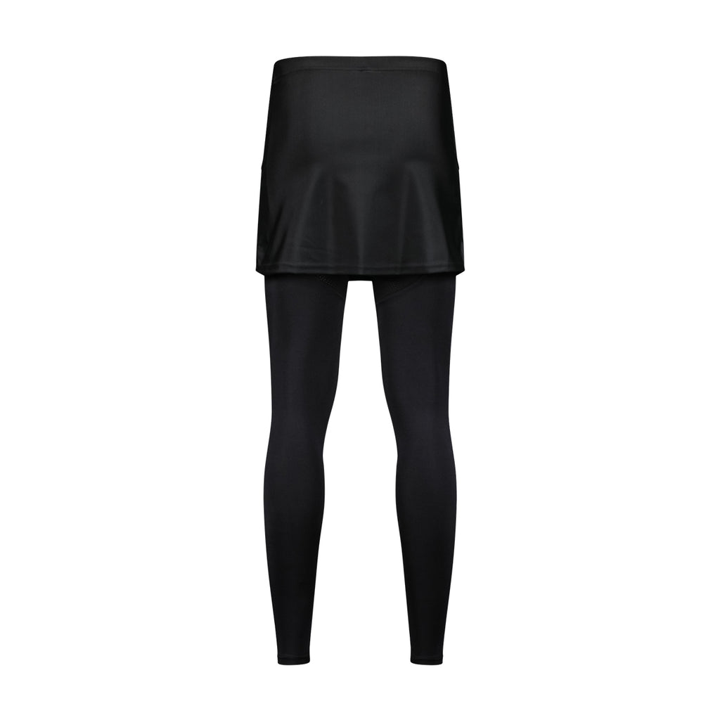 WOSAWE Women's Cycling Skirted Pants Bicycle Skort with Compression Leggings