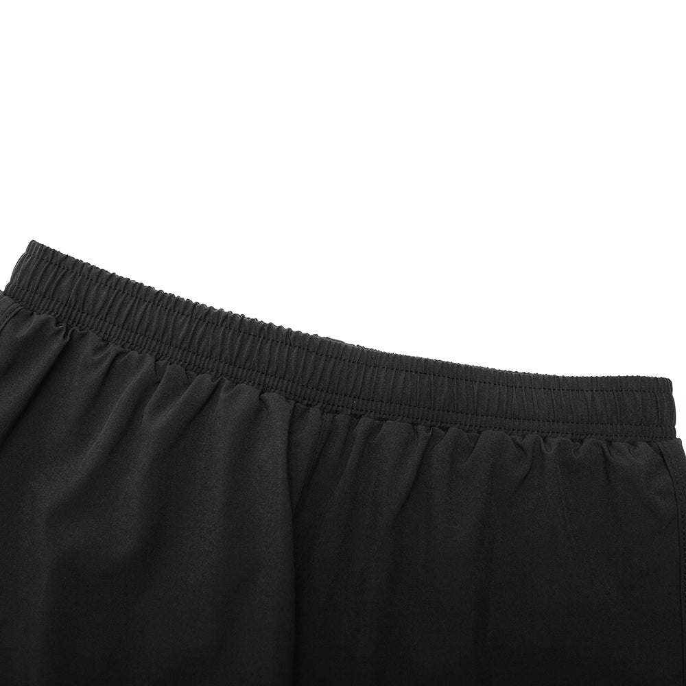 WOSAWE Mens 2-in-1 Running Shorts Breathable Quick Drying Gym Training Shorts Elastic Drawstring Waistband Jogging Shorts