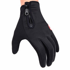 WOSAWE Thermal Windproof Motorcycle Gloves Tactical Mittens Fleece Cycling Gloves