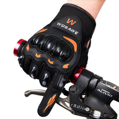 WOSAWE Full Finger Cycling Gloves Mountain Bike Gloves 2 Colors