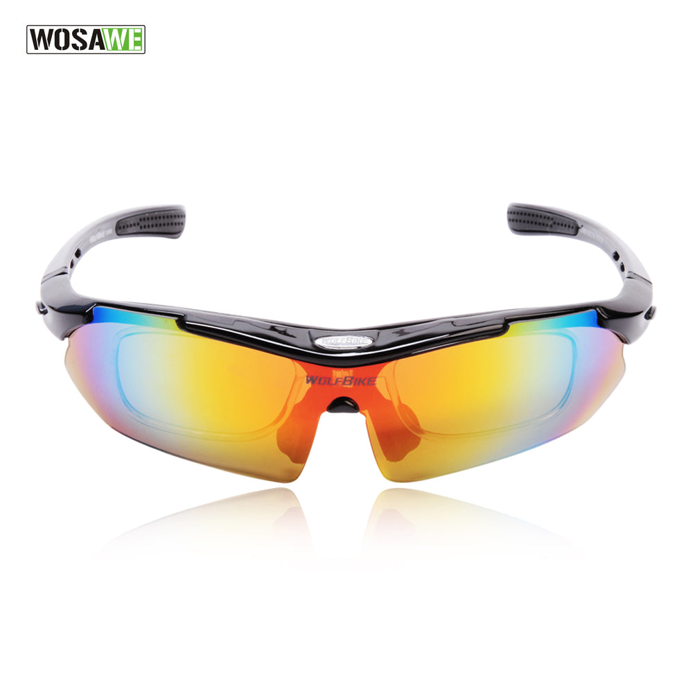 6c458d30f8f WOLFBIKE Polarized Cycling Glasses Bicycle Running MTB Road Bike Fishing  Eyewear