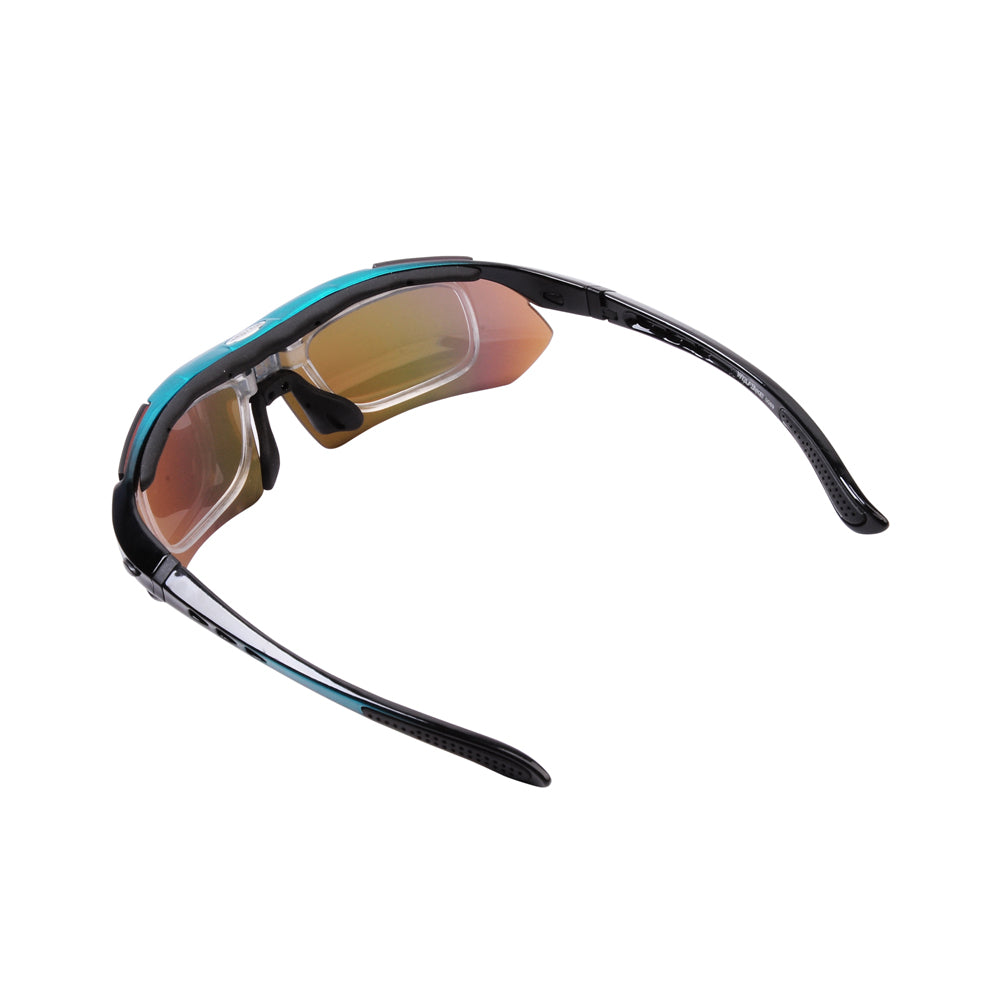 WOLFBIKE Polarized Cycling Glasses Bicycle Running MTB Road Bike Fishing Eyewear, 5 Lens