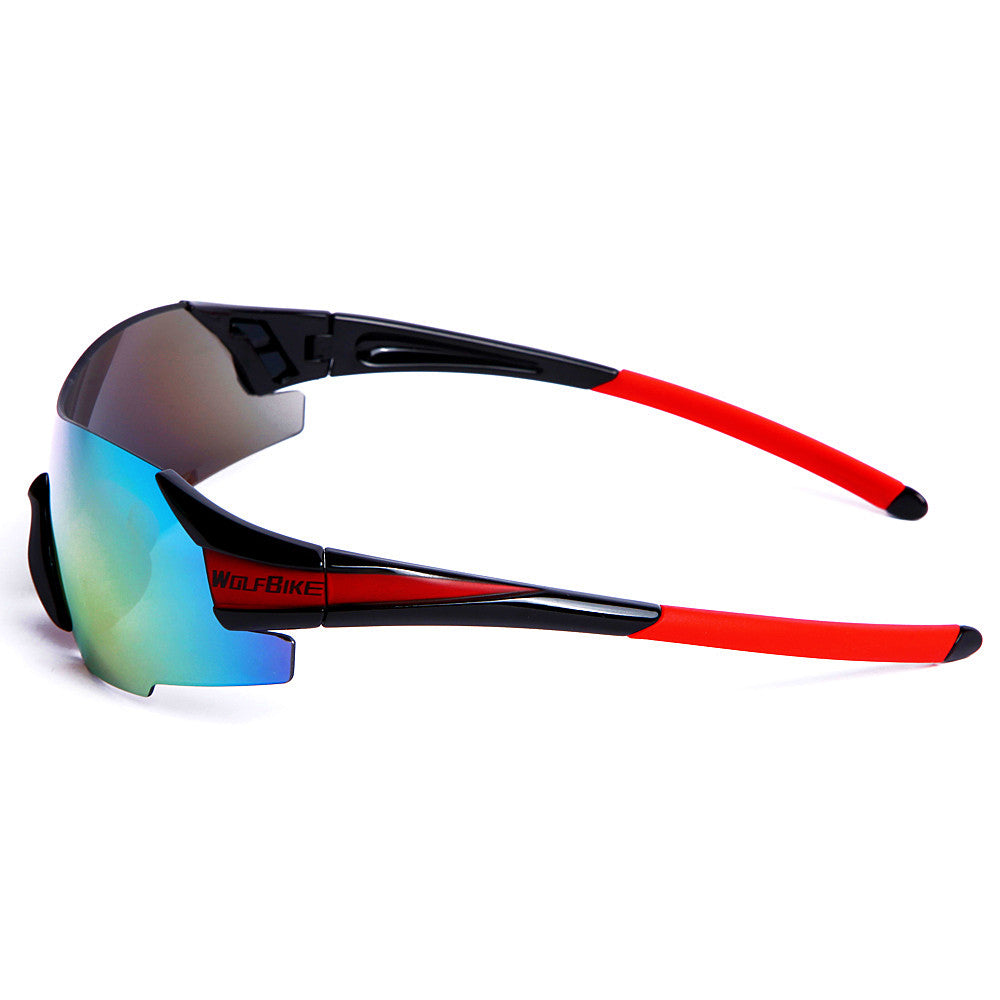 WOSAWE Cycling Glasses Outdoor Sports Windproof Sunglasses 3 Colors 1 Lens with Original Box