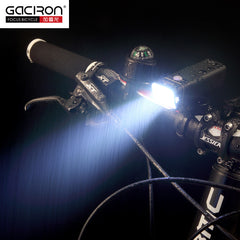 GACIRON V9F-600 lumens LED Flashlight Bike light Wide floodlight rechargeable IPX6 waterproof