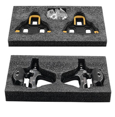ROCKBROS SPD-SL Cycling Road Bike Self-locking Pedals Ultralight Aluminum Alloy 2 Sealed Bearing