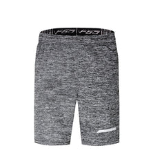 Barbok Men's Quick Dry Drawstring Workout Running Shorts Zip Pockets