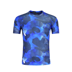 Barbok Men Sport T-Shirts Printed Short Sleeve Fitness Top Breathable Running Tee