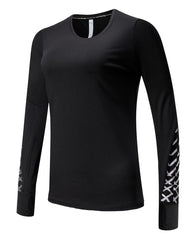 Barbok Women's Workout Long Sleeve T Shirt Dry Fit Running Top