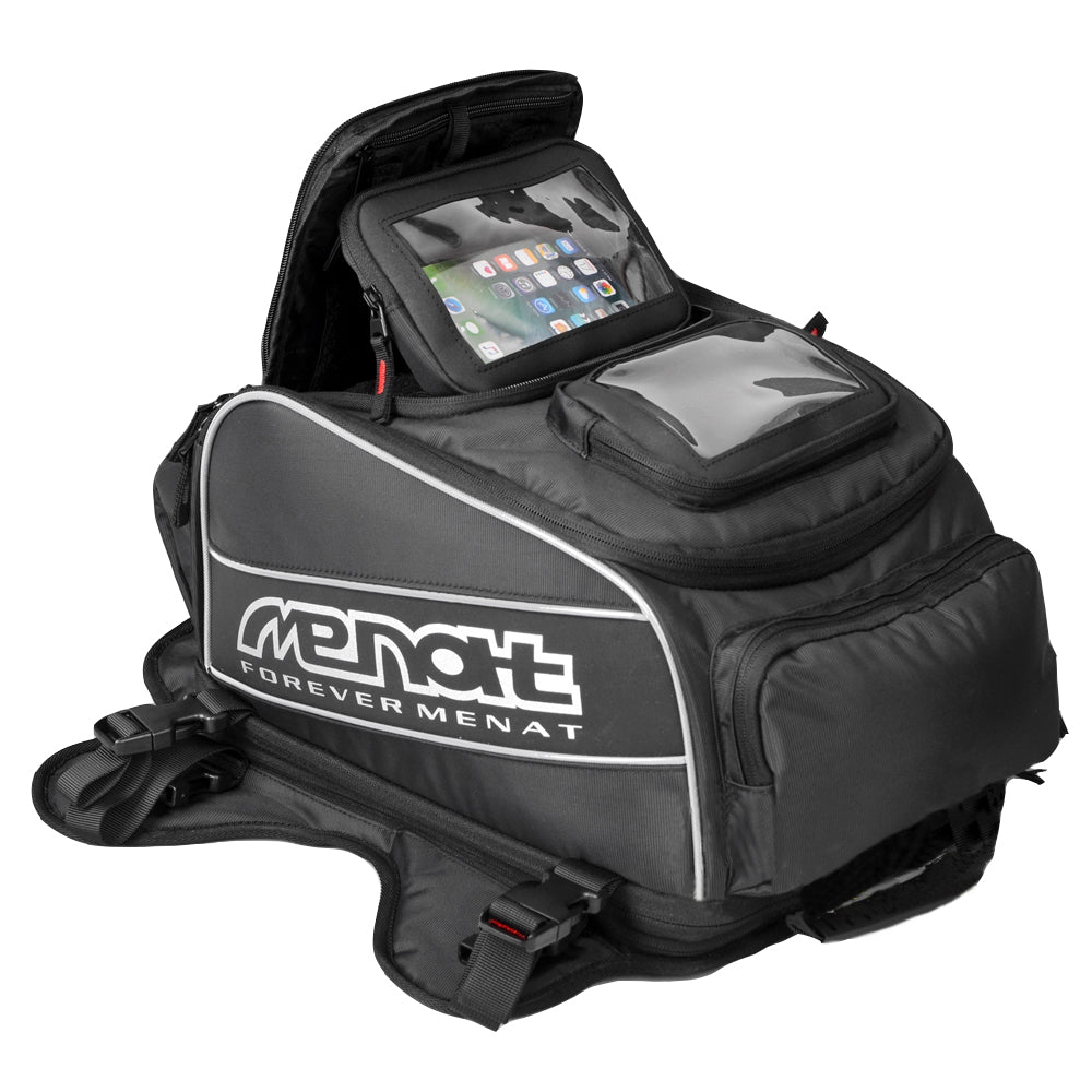 Menat Motorcycle Tank Bag Water Resistant with Strong Magnets