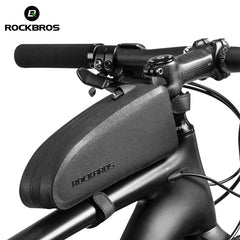 ROCKBROS Waterproof Cycling Top Front Tube Frame Bag Large Capacity MTB Road Bike Accessories