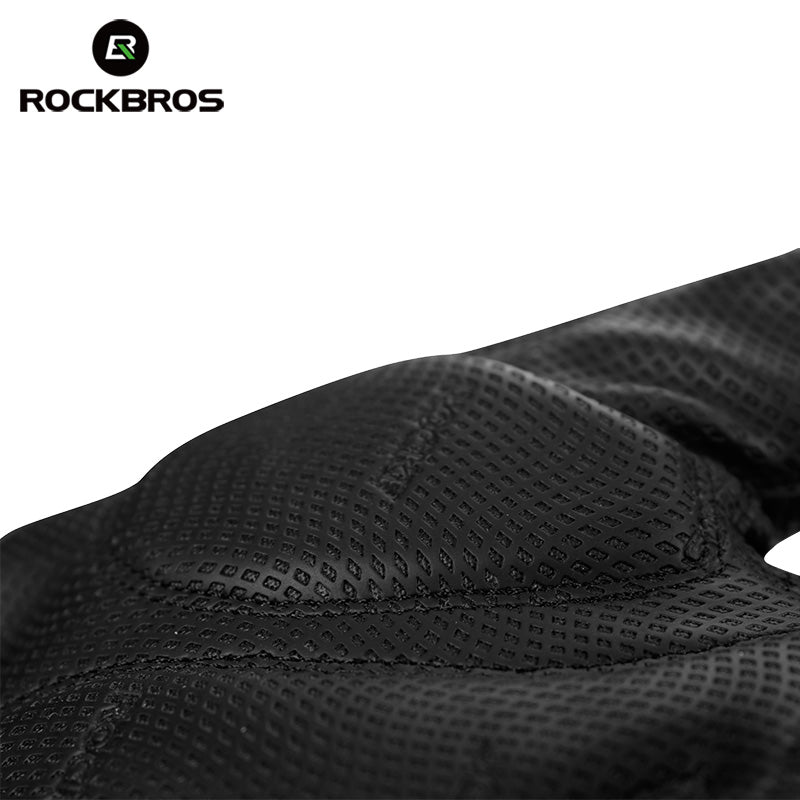 ROCKBROS Half Finger Cycling Gloves Shockproof Breathable MTB Mountain Bicycle Gloves