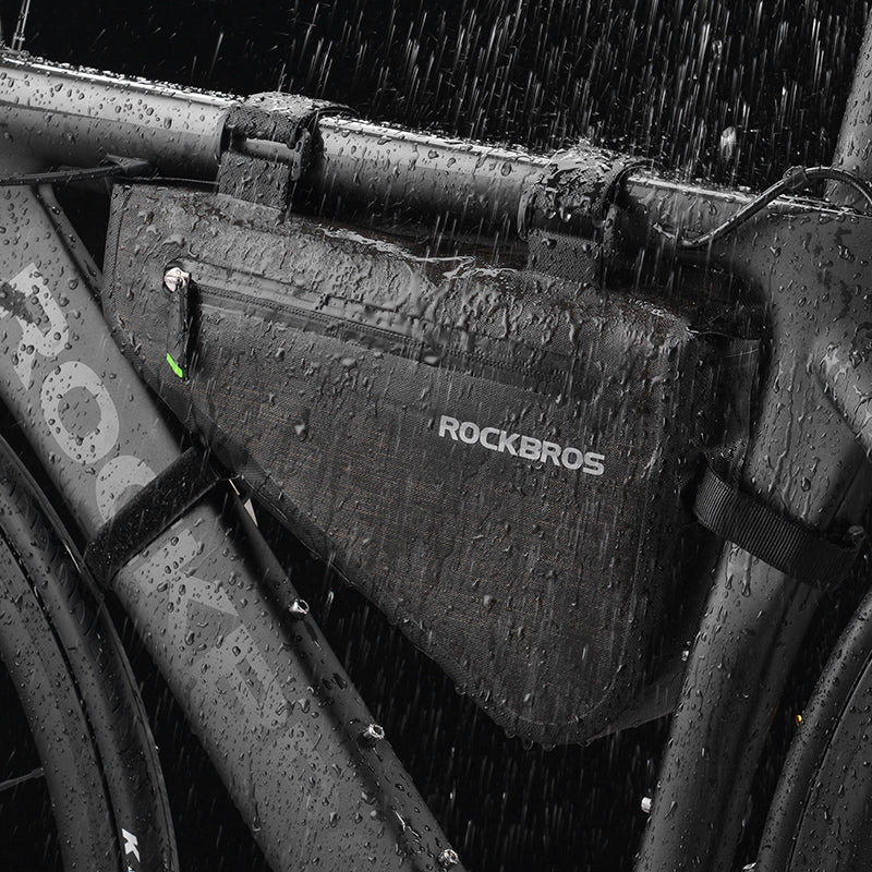 ROCKBROS Rainproof Bike Bag Triangle Pouch Waterproof Caulking Bicycle Bag