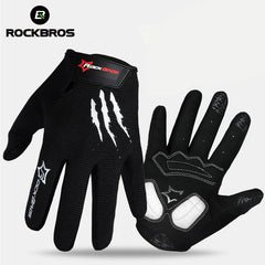 ROCKBROS Touch Screen Bike Bicycle Gloves Full Finger Gel Padded Tactical Gloves