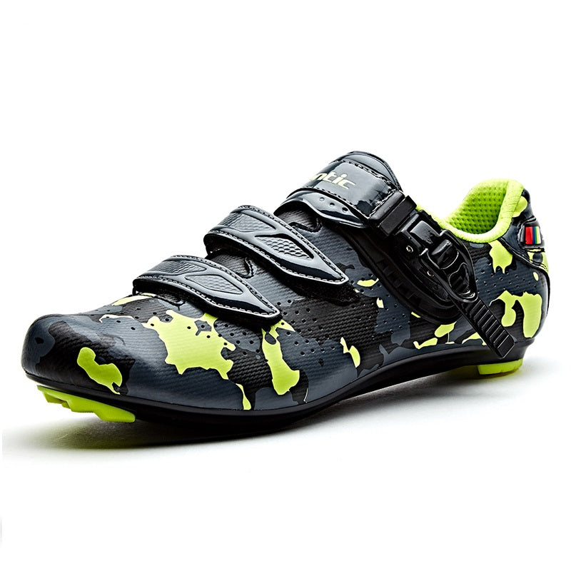 SANTIC Men's Cycling Shoes Carbon Fiber Racing Bike Sneaker