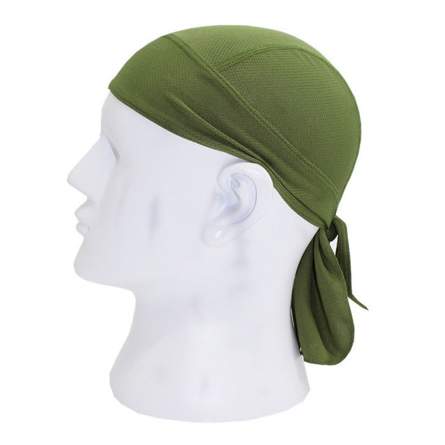 WOSAWE Outdoor Cycling Cap Quick Dry Headwears Sport Headband Scarf