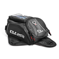 Cucyma Motorbike Oil Fuel Tank Bag Magnetic Motorcycle Bag With Reflective Piping