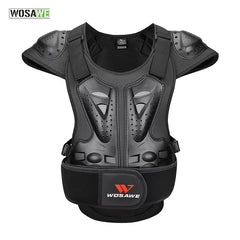 WOSAWE Winter EVA Skiing Jacket Motorcycle Armor Vest Chest Protectors Bicycle Bike Spine Guards Motocross Gear Adult Jacket