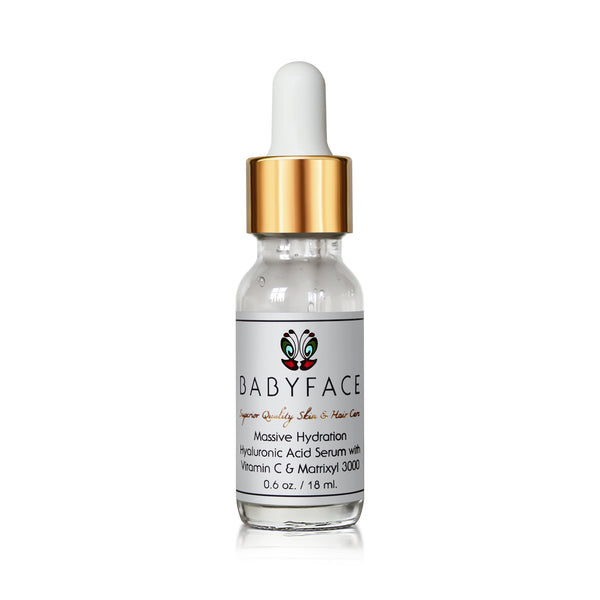 Massive Hydration Hyaluronic Acid Serum with Vitamin C & Matrixyl 3000