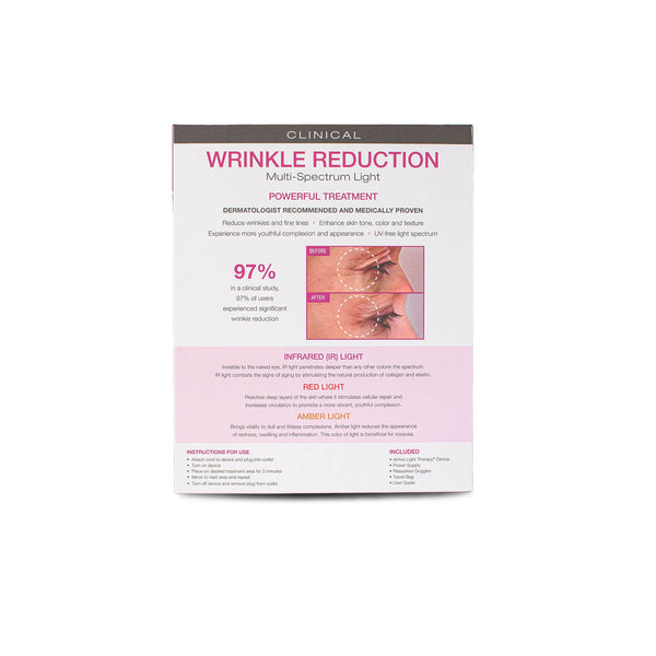 reVive Light Therapy Clinical Wrinkle Reduction & Anti-Aging Handheld Device