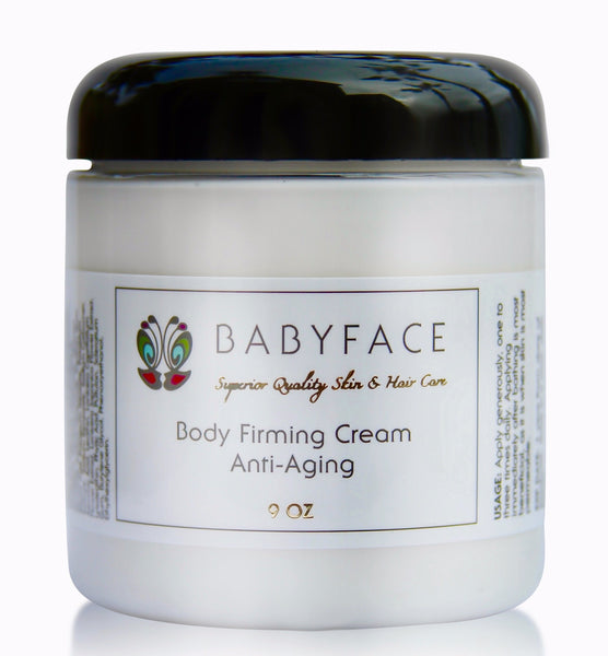 Body Firming Cream for Anti-Aging, Crepey Skin, Sun Damage, 9 oz.