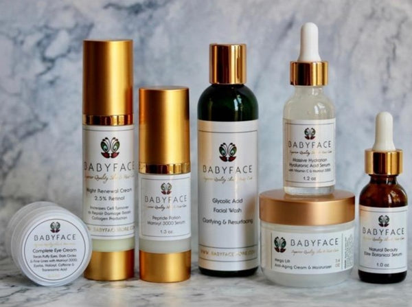 The Advanced Age Skincare Kit: Anti-Aging, Mature Skin, Complete Set
