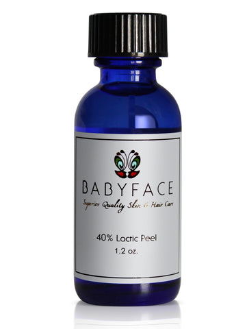 40% Lactic Acid Chemical Peel, Anti-Aging & Sensitive Skin, 1.2 oz.