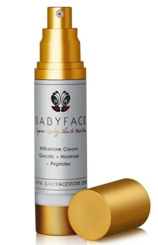 Millionaire Cream with Glycolic, Rich & Powerful Daily Moisturizer
