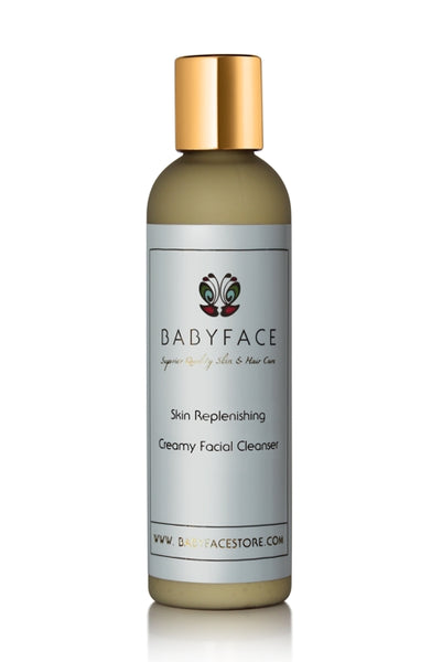 Skin Replenishing Creamy Facial Cleanser, Gentle, 4.4 oz