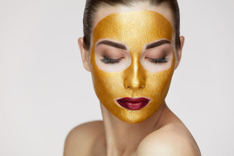 24k Gold Skin Revitalizing & Firming Facial Mask, 2.4 oz.