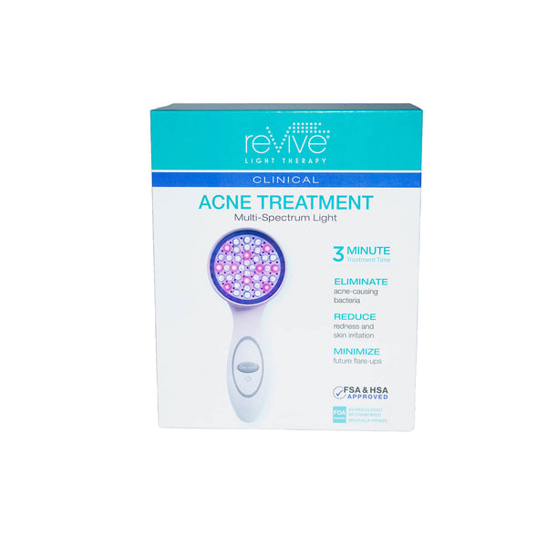 reVive Light Therapy Clinical Acne Treatment Handheld Device