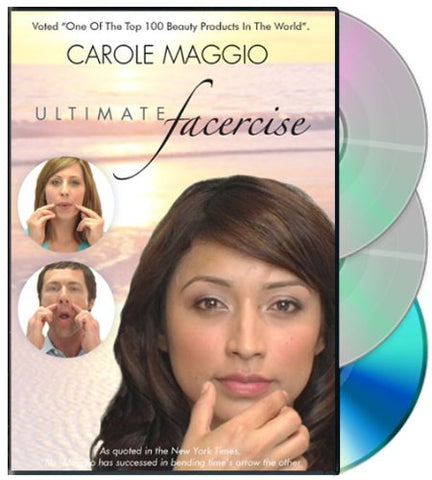 Facercise DVD & CD Set – Natural Alternative to Plastic Surgery