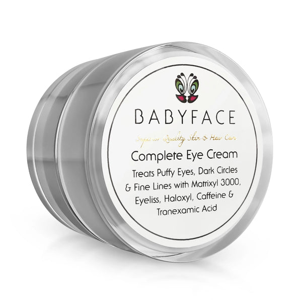 Complete Eye Cream w/ Caffeine, Haloxyl, Eyeliss, Matrixyl & Tranexamic Acid