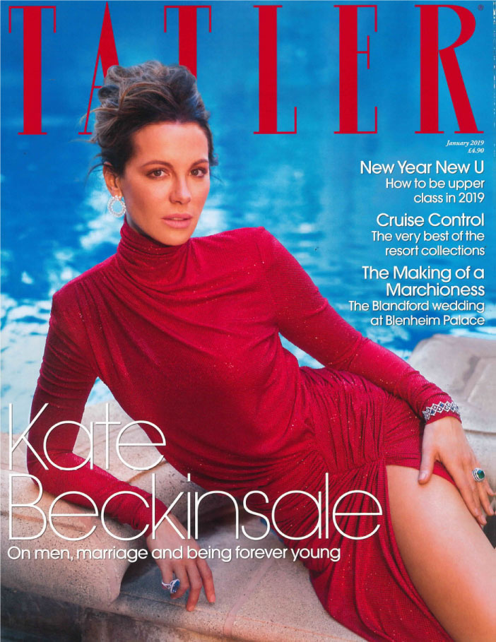 Tatler January 2019 Cover