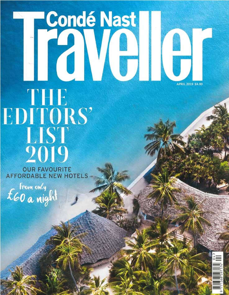Traveller April 2019 Magazine Cover