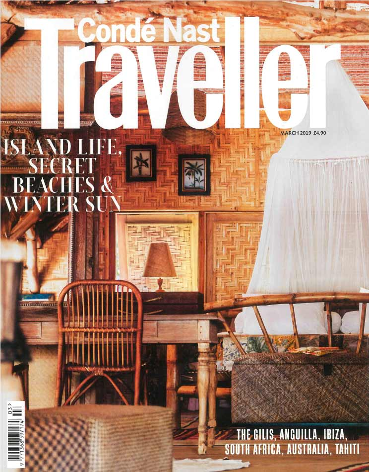 Traveller March 2019 Magazine Cover
