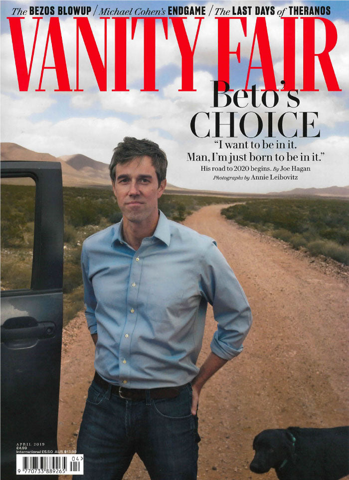 Vanity Fair April 2019 Cover