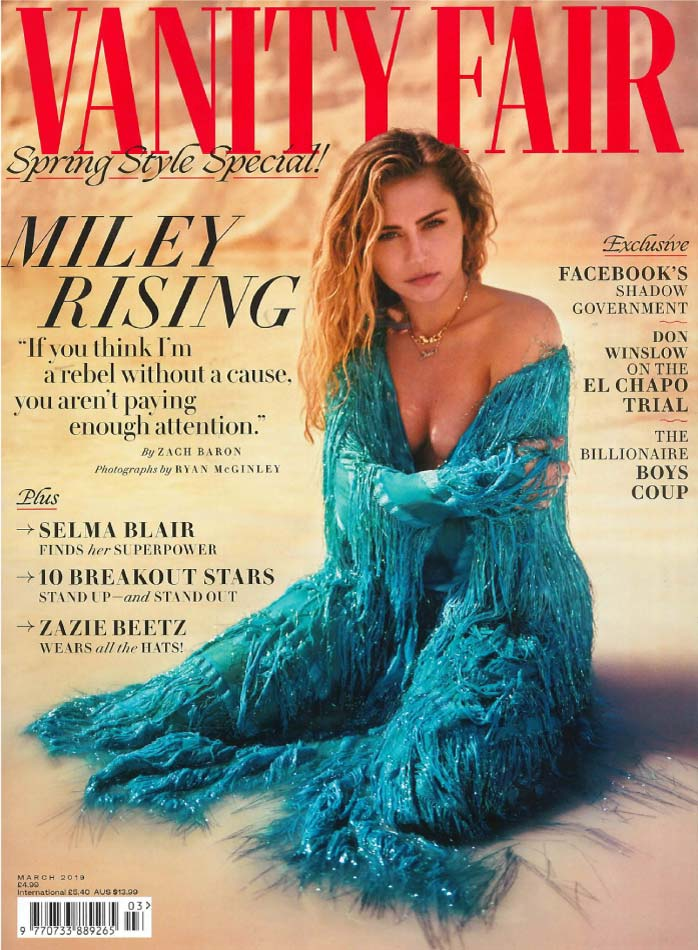 Vanity Fair March 2019 Cover