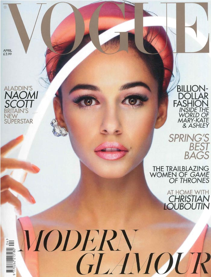 Vogue April 2019 Magazine Cover