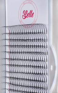 3D PRE MADE FAN EYELASH EXTENSION - D CURL