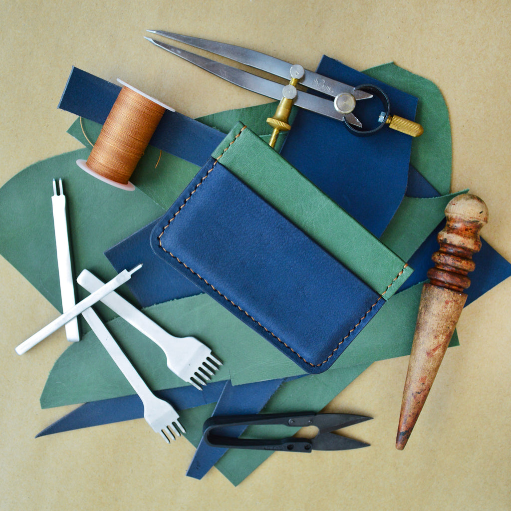 Leather Card Holder Online: What's in the Tool Kit?