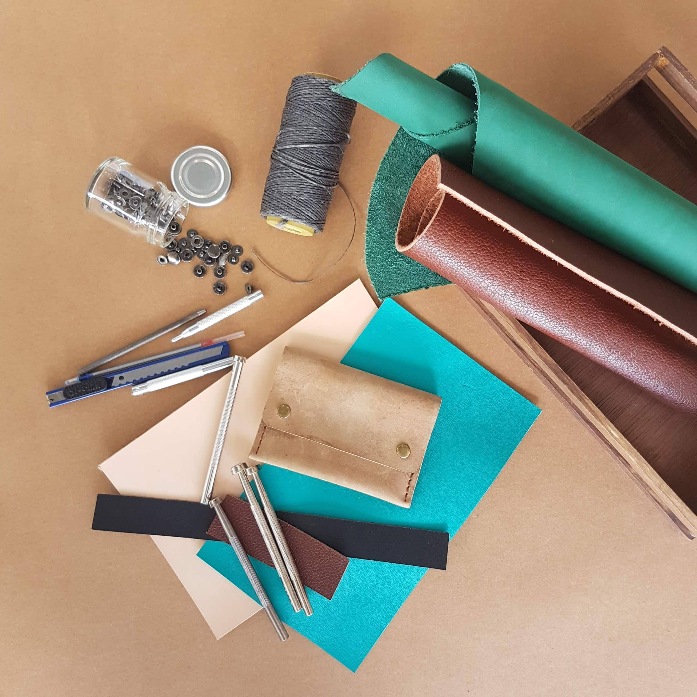 DIY Basic Leather Crafting Workshop Philippines