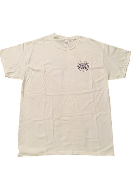 Chips & Gravy South Yorks Tee White / Purple