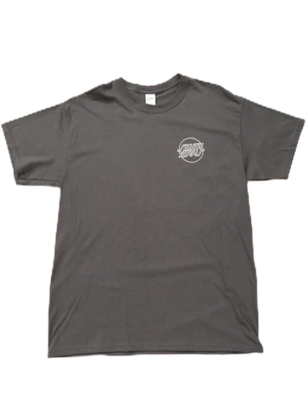 Chips & Gravy South Yorks Tee Charcoal