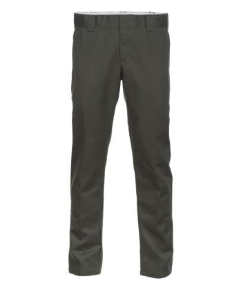 Dickies 872 Slim Fit Work Pants Olive Green