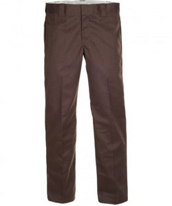 Dickies 873 Slim Straight Work Pants Chocolate Brown