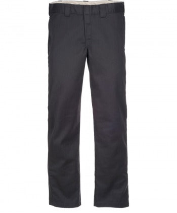 Dickies 873 Slim Straight Work Pants Charcoal Grey