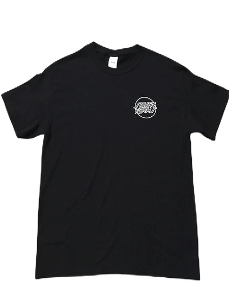 Chips & Gravy South Yorks Tee Black
